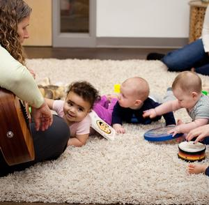 Sing Along at Explore + Discover Early Learning Center for infants & toddlers and their parents